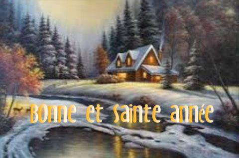 Bonne et sainte année 2019