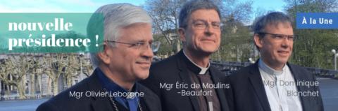 Mgr Eric de Moulins-Beaufort élu président de la Conférence des évêques de France