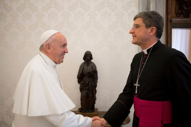 avec la Pape