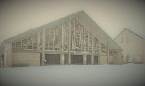L'ermitage St-Walfroy sous la neige en quelques images