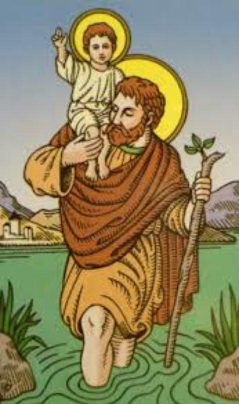 St-Christophe, patron des voyageurs